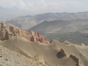 Zwischen Ghar Gompa und Dhakmar